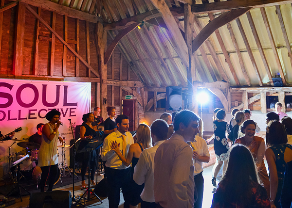 Soul Collective UK Band Wedding